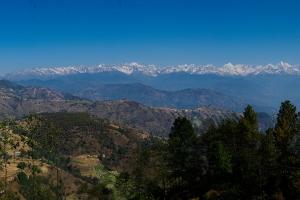 Panorama van de Himalaya (2,5 mb)